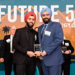 Jasmeet Sawhney & Navdeep Kohli Accepting The Award
